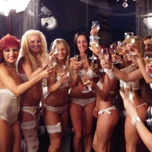 American Show Lap Dance Ragazze